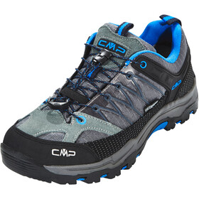 CMP Campagnolo Rigel Low WP Trekking Shoes Juniors Grey-Zaffiro